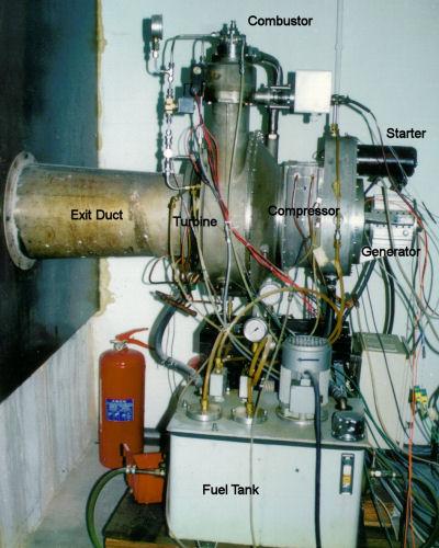 Mini Turboprop Engine: Small Gas Turbine